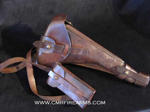 Luger Holster Artillery Rig w/numbered Stock-board. Ref#N2c