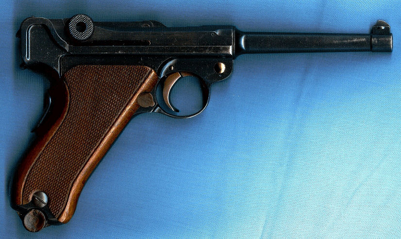 Luger Swiss Model .30 cal; Mod. 06/24 First Variation