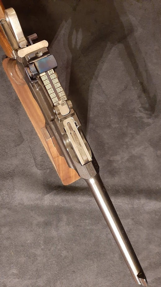 Mauser C96 Early Flat side. Ref.#07fs