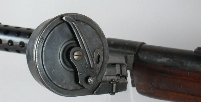 9mm Artillery Luger Bergmann MP18 Snail Drum Adaptor. Ref.#4AA