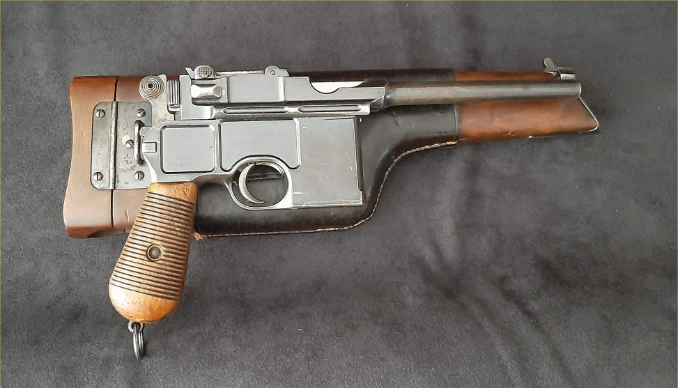 Mauser C96 Conehammer with Westley Richards Case.Prod.Ref.#3c