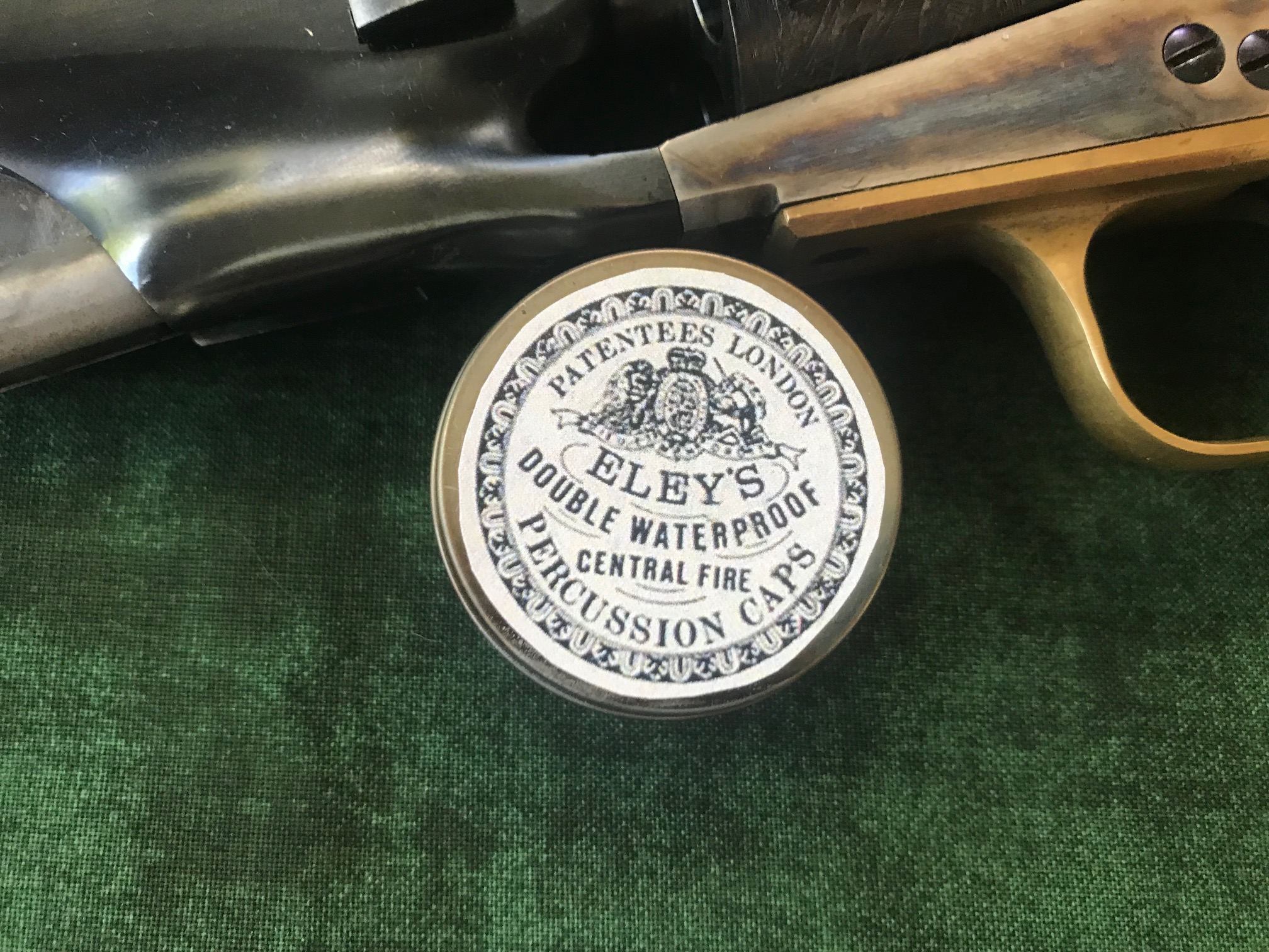 Eley Bros Waterproof Percussion Caps Tin.Prod.Order Ref.#EBCT.05