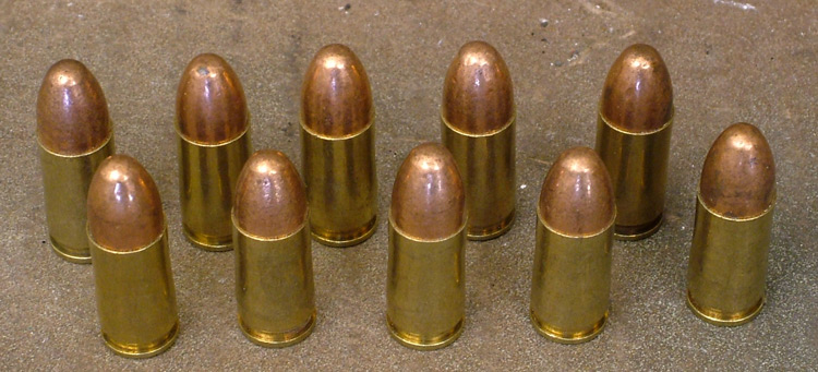 Ammunition Inert 9mm.Ref. #Z8a