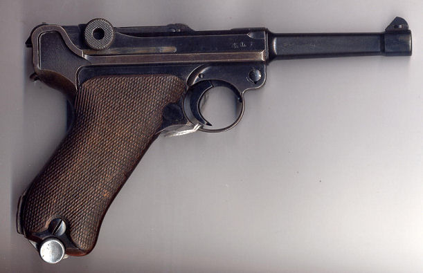 "Code ""42"" Mauser 9mm Luger P-08 Pistol. Chamber Dated 1939"