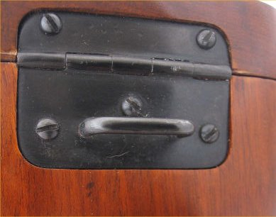Broomhandle Mauser Shoulder Stock Hinge. Ref. #F3c.A-S.