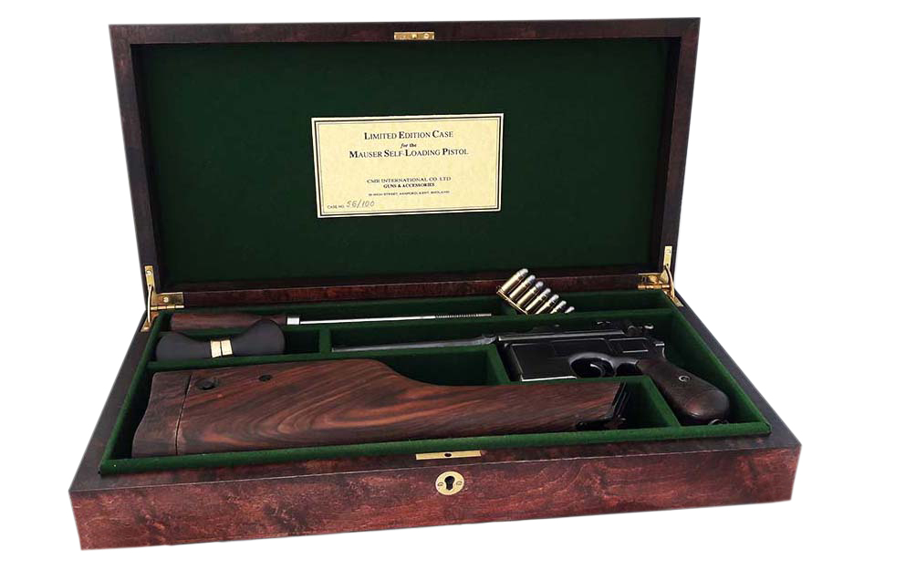 Mauser C96 Westley Richards & Co Ltd Display Case.Ref.#K1ab
