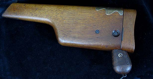 Mauser C96 Broomhandle Pistol with Shoulder Stock.Prod.Ref.#9