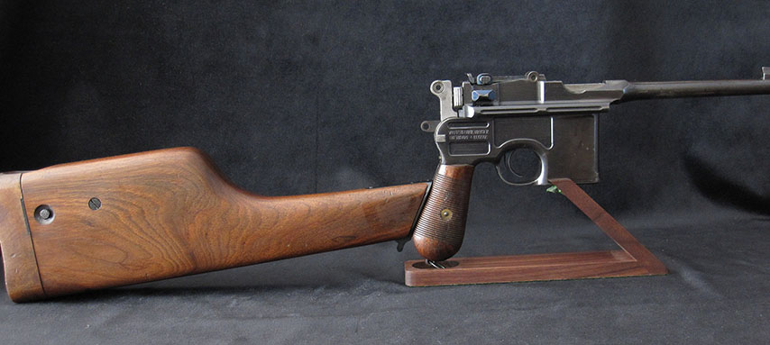CMR Classic Firearms :: Mauser C96 Broomhandle Pistol Small Ring