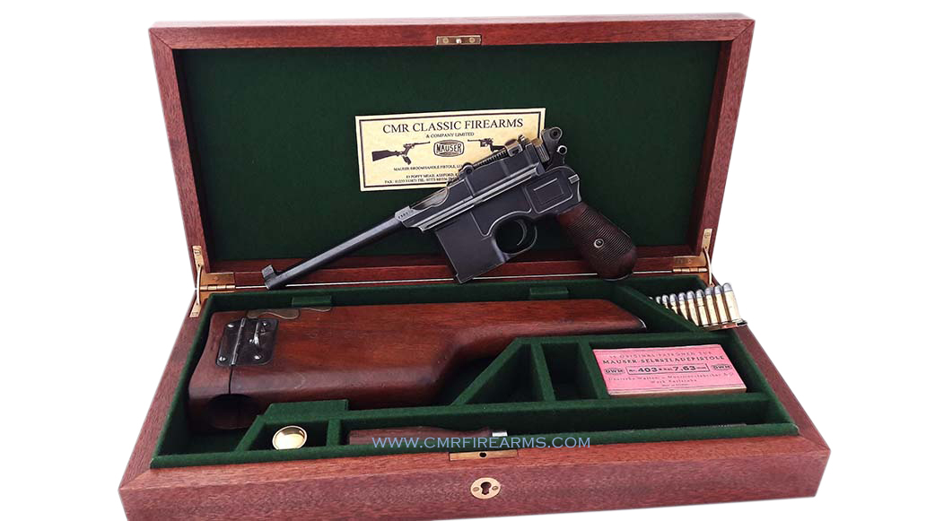 Mauser C96 Cogswell & Harrison Display Case. Ref.k1a