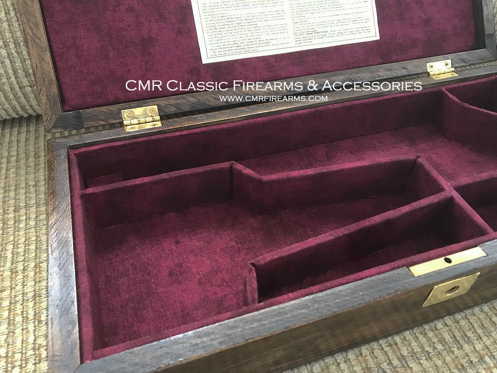 Colt 1860 Army Model revolver Display Case. Ref.#GP.01