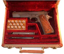 Colt 1911 Pistol Travel Case. Ref.#O1cp