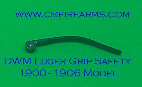DWM Luger Grip Safety Spring. Ref.# 01GSP