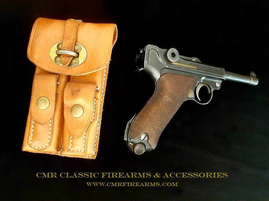 Dutch Luger - Twin Magazine Pouch. Ref.#L1