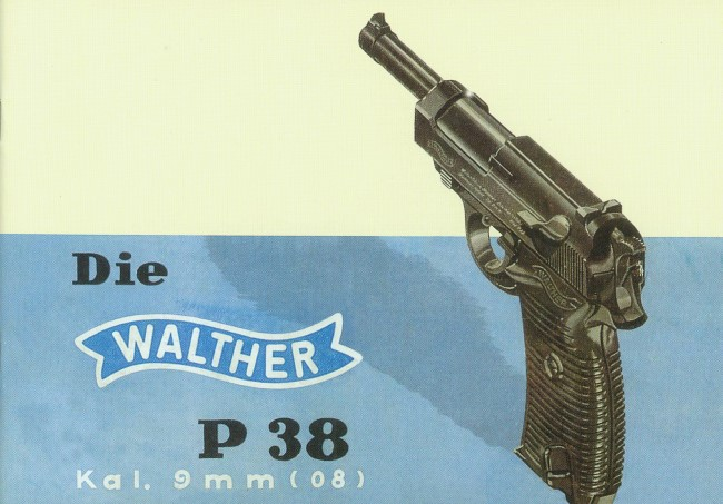 Walther P38 Pistol Manual. Ref. #F11