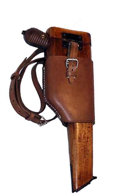 Mauser C96 Stock Half Harness. Ref.#F1we