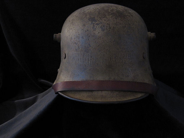 M16 Pattern Imperial German WW1 Steel Helmet w Original Liner