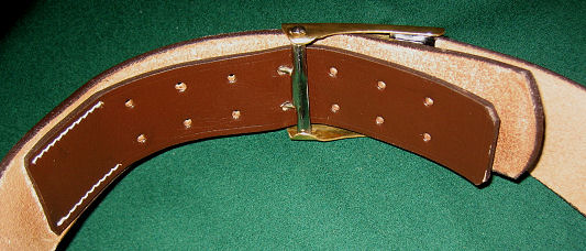 Pistol belt for WW1 Mauser Broomhandle Holster rigs.Ref.#B1.M