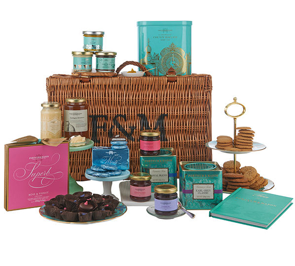 Fortnum & Mason (shooting) English Gentlemens Hamper.Prod.Ref#2
