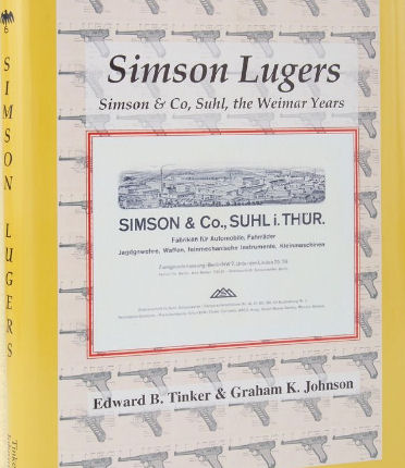 SIMSON LUGERS STANDARD EDITION BOOK.Ref. #G5d