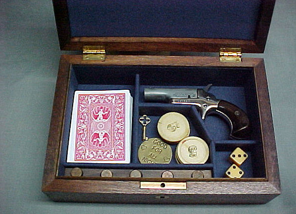 Colt 2nd Generation Vintage Derringer Gun Box case. Prod. Ref.#0