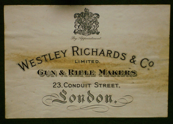 Gun Case Trade Labels