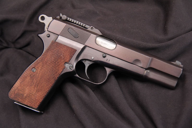Browning Hi Power (Fabrique Nationale FN) Stock.Ref.#FN02