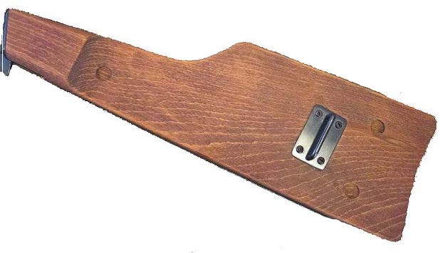 Inglis Hi power Wood shoulder board. Ref.#D3ba
