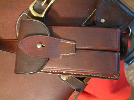 Luger Carbine Leather Carry Case. Ref.#01jb
