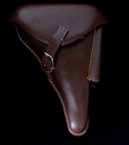 Luger Holster 1916 WW1 German Brown Leather. Ref.#L3 IK