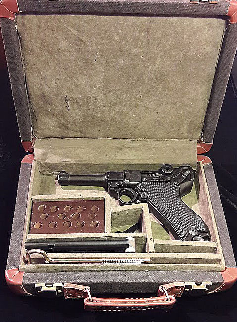 Luger Pistol Travel Carry Case.Ref.#01LC