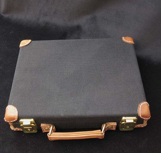 Luger Pistol Canvas Presentation Case. Ref.#O1ab