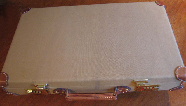 Mauser Broomhandle Pistol Canvas Carry Case. Ref.#K2bcr