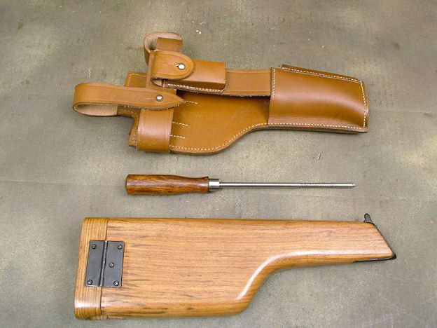 C96 Mauser Broomhandle Pistol WW1 Holster Rig.Ref.#E6ma