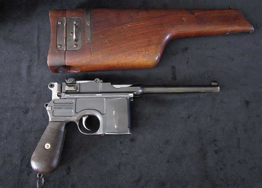 Mauser C96 Broomhandle Pistol Small Ring Hammer. Ref.#6