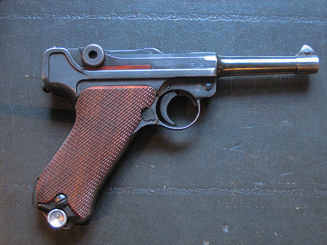 "Code BYF ""G"" DATE Mauser 9mm P-08 Luger Pistol (Deactivated)"