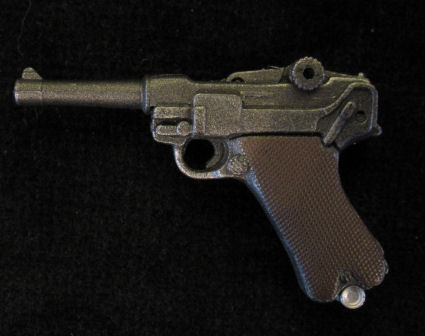 Miniature P08 Luger Parabellum Pistol with holster.Ref.#08-1
