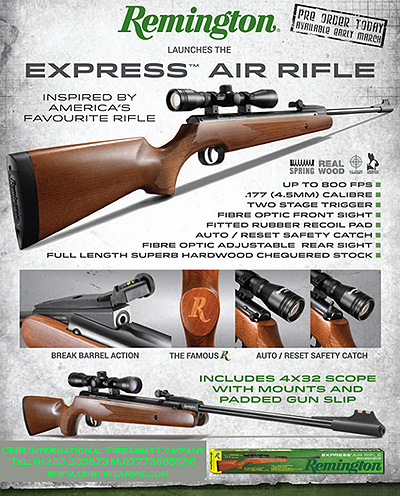 Remington Express Air Rifle. Prod.Ref. 01sm
