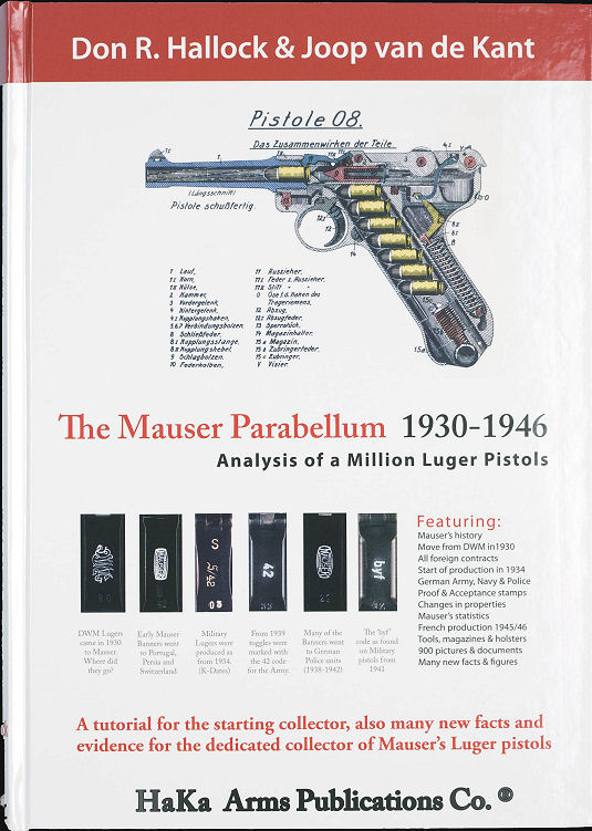 THE MAUSER PARABELLUM 1930 To 1946.Ref. G5DWJ