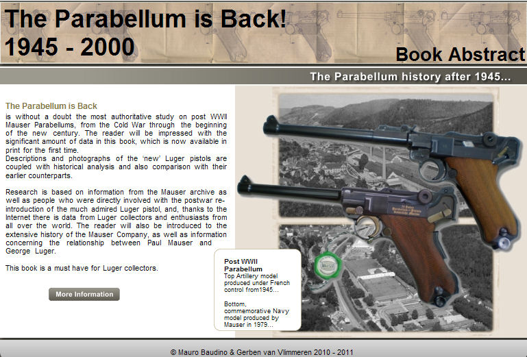 The Parabellum is Back 1945-2000. Ref.#F12DWJ