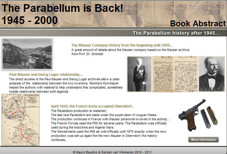 CMR Classic Firearms :: The Parabellum is Back 1945-2000