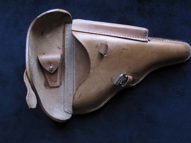 Luger Holster African Corp dtd 1941. Ref.#L4sar