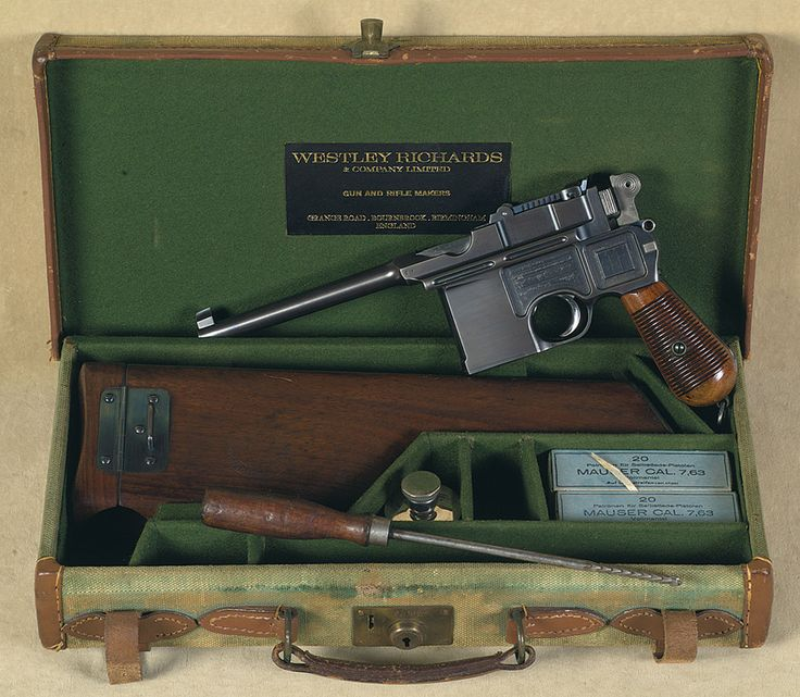Mauser Broomhandle Pistol Presentation display Case. Ref.#K1a