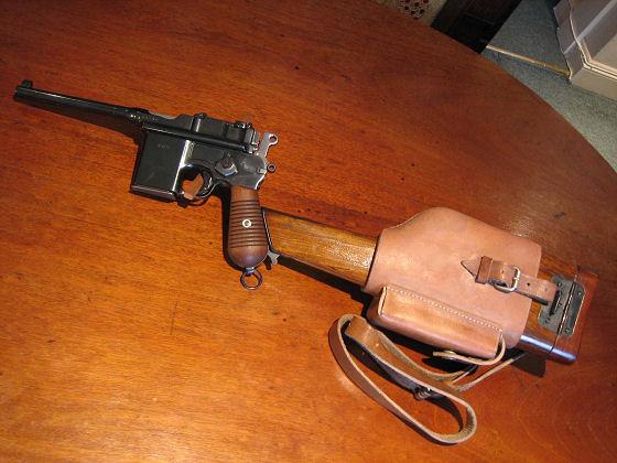 Mauser Westinger Schnellfeuer Model M712 Pistol  Ref #C2b