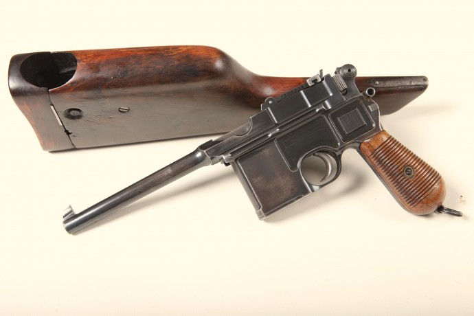 Mauser Broomhandle C96 Shoulder Stock.Ref. #D2.A-S.