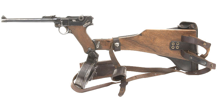 Luger Holster Artillery Rig WW1. Ref. #N1cr