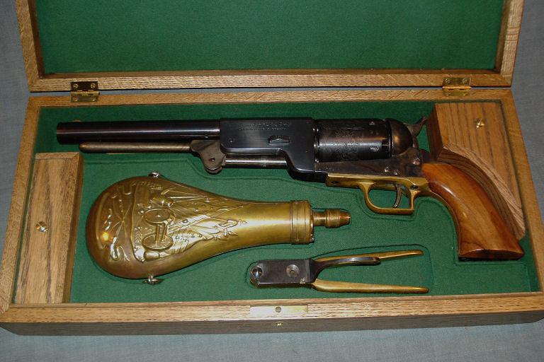 CMR Classic Firearms :: Colt 1847 Walker Percussion Pistol